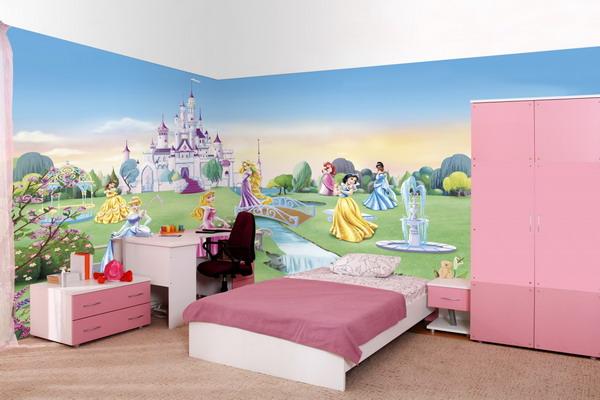 Little girl bedroom ideas kids bedroom ideas latina for Disney princess bedroom ideas