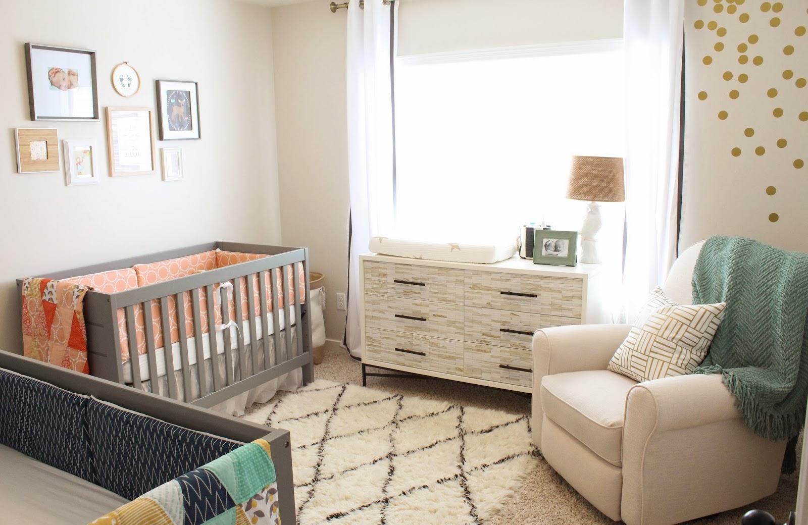 Nursery decor in 4 easy steps nursery ideas latina - Neutral baby bedroom ideas ...