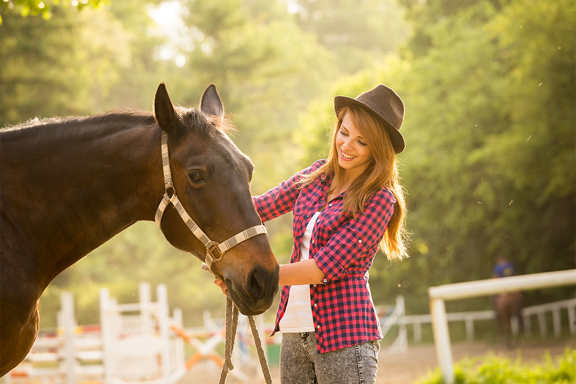 studies show that women who own horses live 15 longer than those who don't.