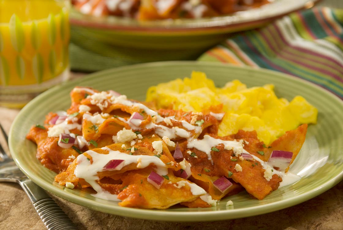 Quick Skillet Chilaquiles for Lunch or Dinner