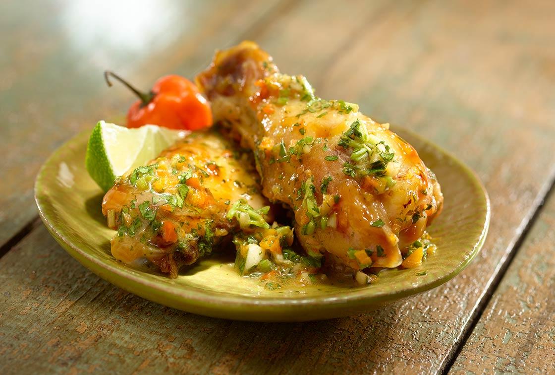 Spicy-Cilantro-Chicken-Wings-Recipe