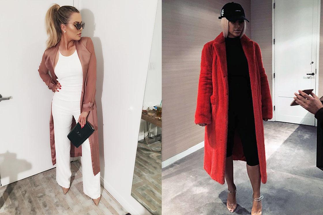 IG / Khloe Kardashian / Kim Kardashian
