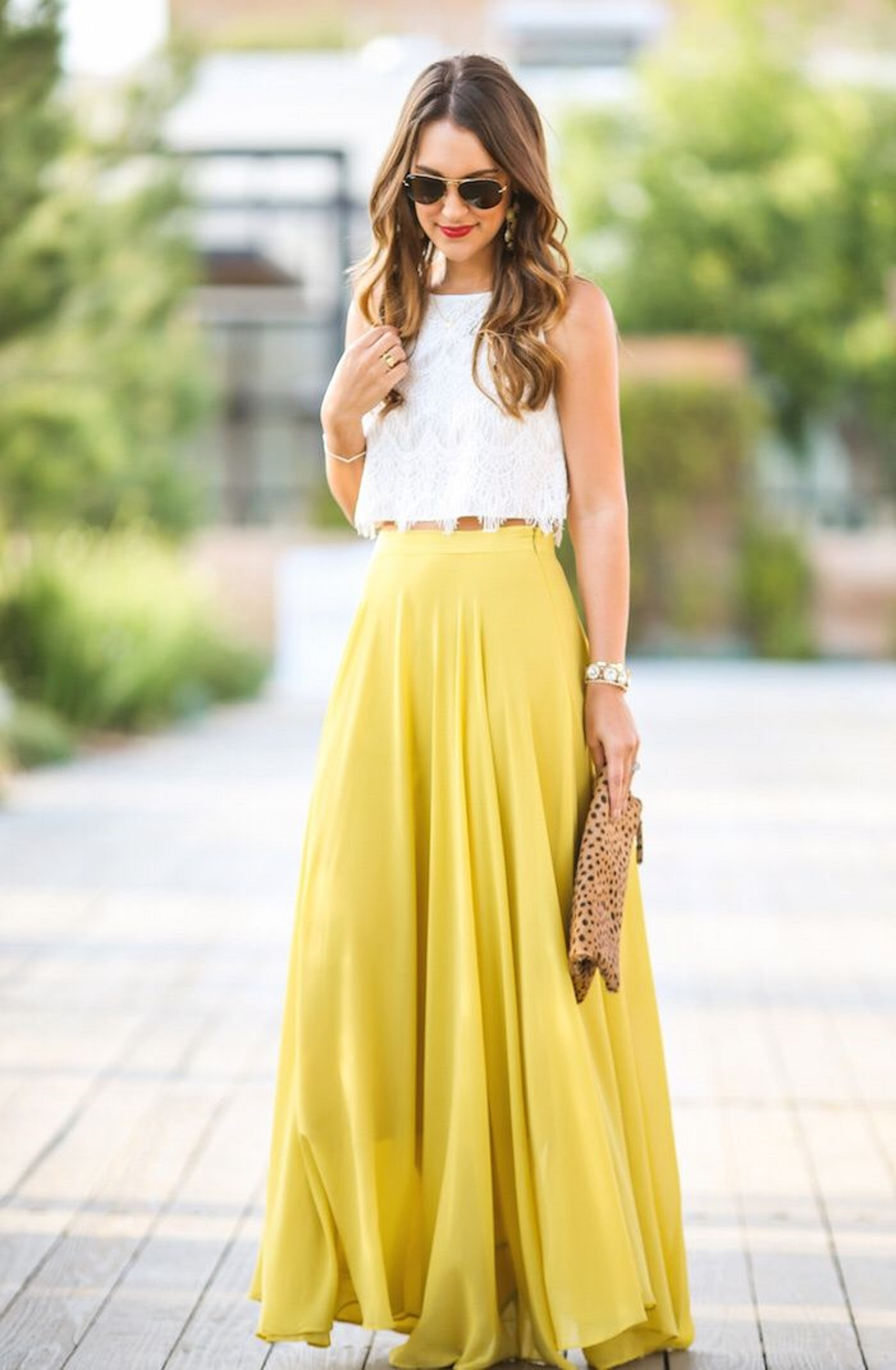 most flattering skirt length