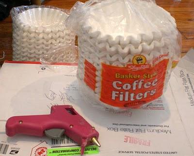 Diy Beautiful Coffee Filter Paper Lantern